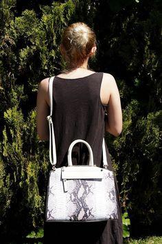 Diophy Snake Skin Pattern Tote Womens Purse Handbag SW-3108 Black: Handbags: Amazon.com