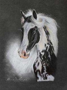Irish Cob Pastel Art, Cob, Irish, Horses, Animals, Animales, Irish Language, Animaux, Animal