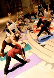 Yoga on the Labyrinth - Free in Nob Hill Tuesday Nights