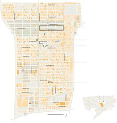Challenges Facing Detroit's North End - The New York Times Detroit Map, Detroit Neighborhoods, Scotland Castles, Medieval Castle, Ny Times, Milwaukee, Travel Photography, The Neighbourhood, Floor Plans