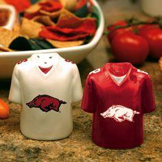 Arkansas Razorbacks Salt and Pepper Shaker
