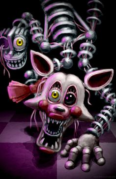 Mangle by BritneyPringle on DeviantArt