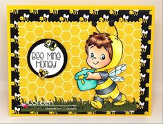 A Cards Delight: Bee-Henry by C.C.Designs