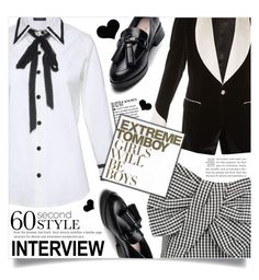 """60-Second Style: Job Interview"" by dolly-valkyrie ❤ liked on Polyvore featuring Marc by Marc Jacobs, Dolce&Gabbana, jobinterview and 60secondstyle"