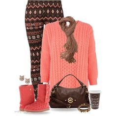 """* Comfy UGG Day! *"" by hrfost1210 on Polyvore"