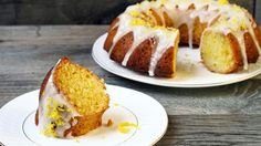 Lemon Drizzle Cake - the perfect cake recipe for afternoon tea.