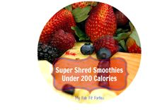 Super Smoothie Recipes Under 200 Calorie From Dr. Ian Smith - My Fab Fit Forties