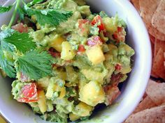 recipe~ Avocado mango Guacamole