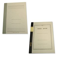 Tsubame Notebooks Set Of Two, $18, now featured on Fab.