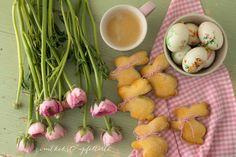 Die Hasen sind los! - Zimtkeks und Apfeltarte Brunch, Easter Recipes, Easter Food, Omelette, Eggs, Cooking, Desserts, Breakfast, Muffins