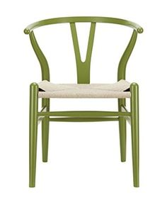 Modway Amish Wooden Dining Arm Chair (Green)