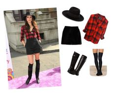 """#troianbellisario"" by chavezmelissaa on Polyvore featuring Alaïa, Maison Michel, Rails, Native Rose and Aerosoles"