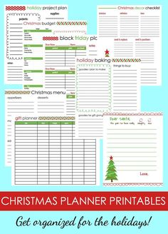 Get organized for the holidays! The Ultimate Christmas Planner includes everything you need this year to celebrate with your family and friends. With these instant downloadable pages, you can simplify your holiday planning and keep your Christmas season stress-free.