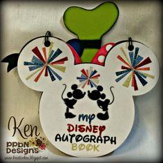 Ken's Kreations : DISNEY AUTOGRAPH BOOK