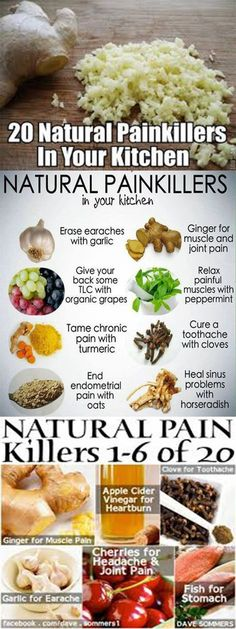The Best 20 Foods That Are Better Than Painkillers http://www.feelinglively.com/the-best-20-foods-that-are-better-than-painkillers/