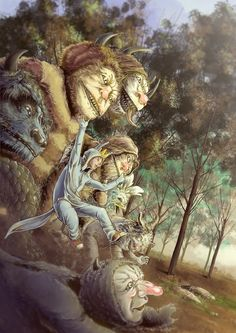 Where the Wild Things Are on Behance