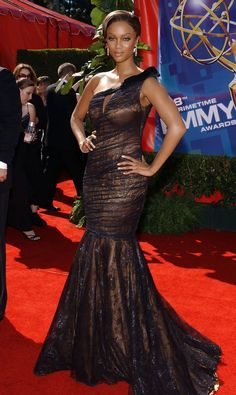 Tyra Banks in Georges Chakra (58th Primetime Emmy Awards)
