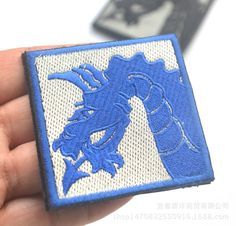 3 colors embroidery 18th the Dragon Airborne US Military Morale 3D Badge Fabric Armband Badges Stickers applique patch