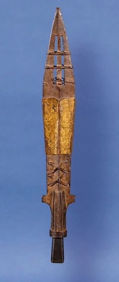 Copy of the Holy Lance (Spear of Saint Maurice) by Anonymous from Germany, before 1000, Muzeum Skarbca Katedralnego, given to Boleslaus the Brave by Emperor Otto III in 1000