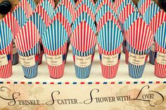 Dottie Seaside Funfair Confetti Cones B