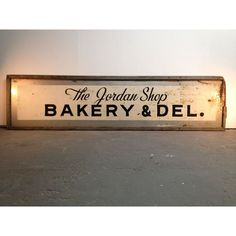 Deli And Bakery Sign.. the lighting makes this sign pop