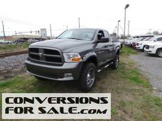 2012 Ram 1500 4WD Crew Cab ST Lifted Truck