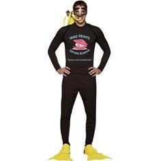 Mike Hunt's Diving School Halloween Costume |ca $26
