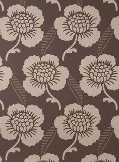 Florale Motive: Tapete St. James's Place von Little Greene