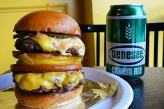 The Mac Daddy burger at Sauce Wings, saucewings.com