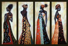 "Dora Alis Mera V. ""Mujeres africanas"""