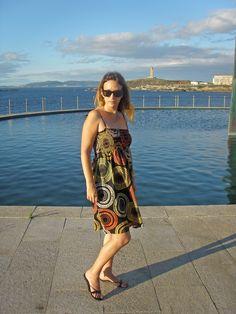 Orange & Yellow Dress #blogger #fashion #moda http://www.julyapepry.blogspot.com.es/2014/10/hola-aqui-en-galicia-septiembre-ha-sido.html