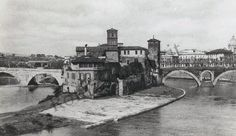 ISOLA TIBERINA 1934 Old Pictures, Old Photos, Vintage Photos, Roman History, Roman Art, Photo Projects, Roman Empire, First Photo, Art And Architecture