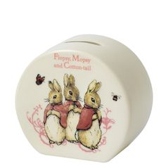 Buy Beatrix Potter Peter Rabbit Flopsy, Mopsy and Cotton Tail Money Box from our Money Banks range at John Lewis.