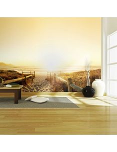Fototapeta - Iść w stronę słońca... Isco, Bath Caddy, Rugs, Bed, Furniture, Home Decor, Farmhouse Rugs, Decoration Home, Stream Bed