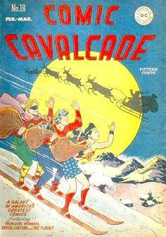 Comic Cavalcade #19  - February, 1947