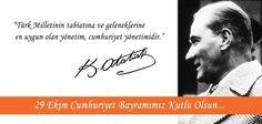 29 Ekim Cumhuriyet Bayramımız Kutlu Olsun...