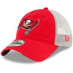 timeless design c4618 d335b Men s Tampa Bay Buccaneers New Era Red Stated Back Trucker 9TWENTY Adjustable  Hat, Your Price