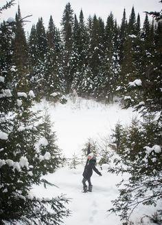 Dormir dans une cabane dans les arbres au Québec (Detour Local) -> Le grand air québécois à même le parc Ouareau dans Lanaudière www.detourlocal.com/dormir-dans-cabane-dans-les-arbres-au-quebec/ Detour, Canada, Outdoor, Park, Drill Bit, Winter, Outdoors, Outdoor Games, Outdoor Life