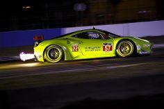 2014 12 hours of Sebring - GT LE MANS - #57 Krohn Racing Ferrari F458 Italia Turn 10