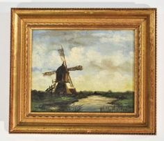 WILLY MARTENS (DUTCH1856-1927) OIL PAINTING