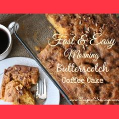 Recipe for The VERY Best Boxed Cake Mix Coffee Cake on Myfoodies.com Recipes & Online Cookbooks