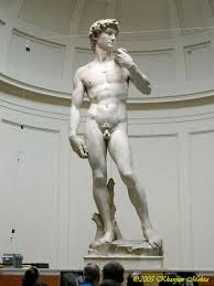 Florence Italy, Galleria dell'Accademia - it is visited by most people who want to see Michelangelo's David. Undoubtedly the world's most famous sculpture, the museum also houses five other Michelangelo sculptures Michelangelo Sculpture, Roman Sculpture, Sculpture Art, Miguel Angel, Art Ninja, Famous Sculptures, Dan Brown, Italian Artist, Florence Italy