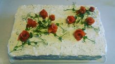 #voileipäkakku #lohivoileipäkakku Special Occasion, Cake, Holiday, Party, Instagram Posts, Desserts, Pie Cake, Tailgate Desserts, Pie