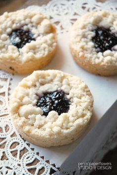 French Sablés • Classic Jammers. Recipe from Dorie Greenspan ♥