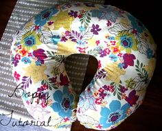 Boppy Cover Tutorial    @Gayle Robertson Robertson Edney I don't have time for this AND never sewed a zipper so please make me one ;)