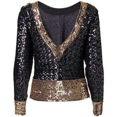 Malene Birger Petrizio embellished top ($630) ❤ liked on Polyvore