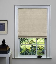 Custom Flat Roman Shades & Blinds, Oatmeal - contemporary - roman blinds - The Shade Store - something to consider