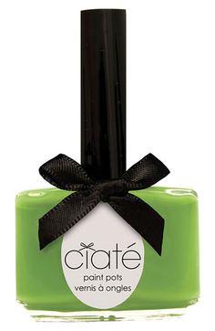 Ciaté Nailpolish Mojito ml Grunge Look, Ciate Nail Polish, Painted Pots, Key Lime, Shades Of Red, Mojito, Soft Colors, Pretty Nails, Perfume Bottles