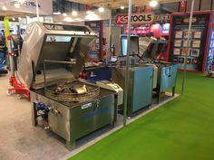 Lavadoras de piezas rotatorias, manuales y de ultrasonidos de nuestra marca representada SME en nuestro Stand de Motortec 2017  http://iberisasl.com/lavadoras-piezas-sme.php