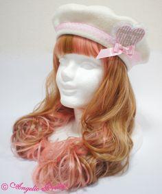 Angelic Pretty Melody Toys Heart Emblem Beret